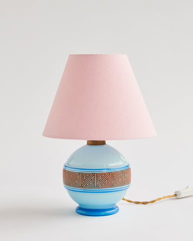 Glass Table Lamp - SOLD
