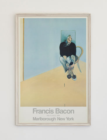 Francis Bacon Poster 1984