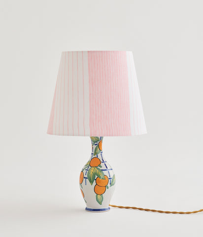 Faience Table Lamp