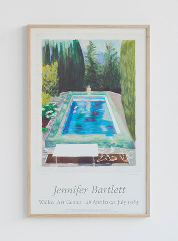 Jennifer Bartlett Poster 1985