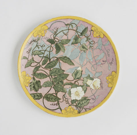 Floral Wall Plate - SOLD