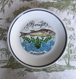Set of 6 Lunch Plates