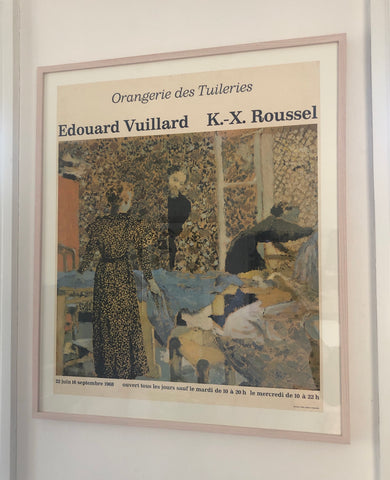 Vuillard Exhibition Poster 1968