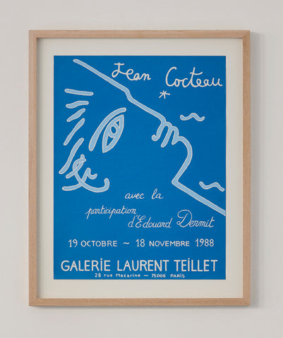 Jean Cocteau Exhibition Poster 1988 - SOLD