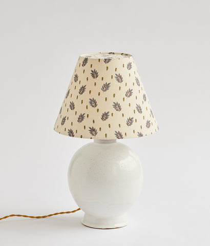 French Ceramic Lamp - SOLD
