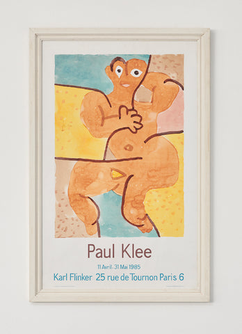 Paul Klee Exhibition Poster 1985 - SOLD