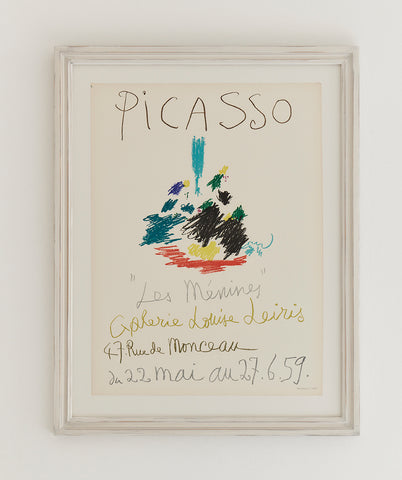 Picasso Exhibition Poster 1959