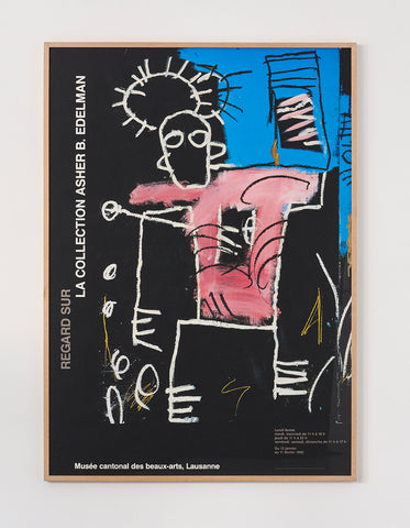 Pierre Neumann Exhibition Poster (Basquiat) - SOLD