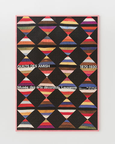 Quilt Exhibition Poster