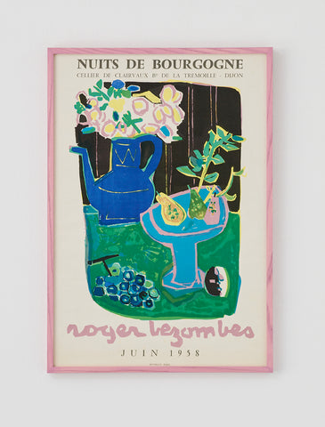 Roger Bezombes Exhibition Poster 1958 - SOLD