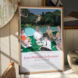 "Jean-Philippe Delhomme Poster ""Christian Dior and friends"""