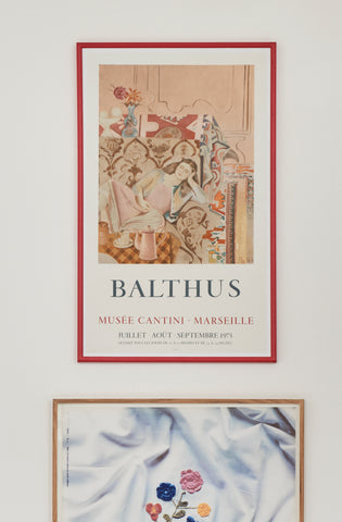 Balthus Vintage Exhibition Poster - SOLD