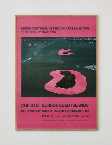 Christo Exhibition Poster 1987