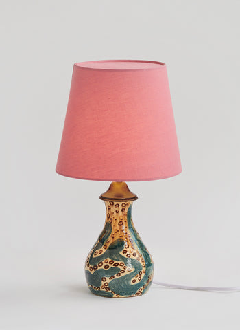 French Earthenware Lamp - SOLD