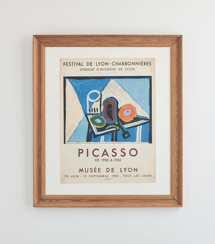Pablo Picasso Poster 1953