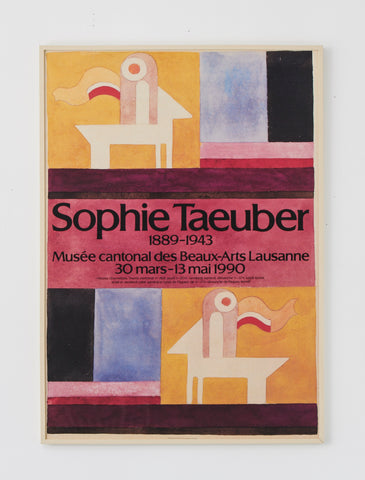 Sophie Taeuber-Arp Exhibition Poster - SOLD