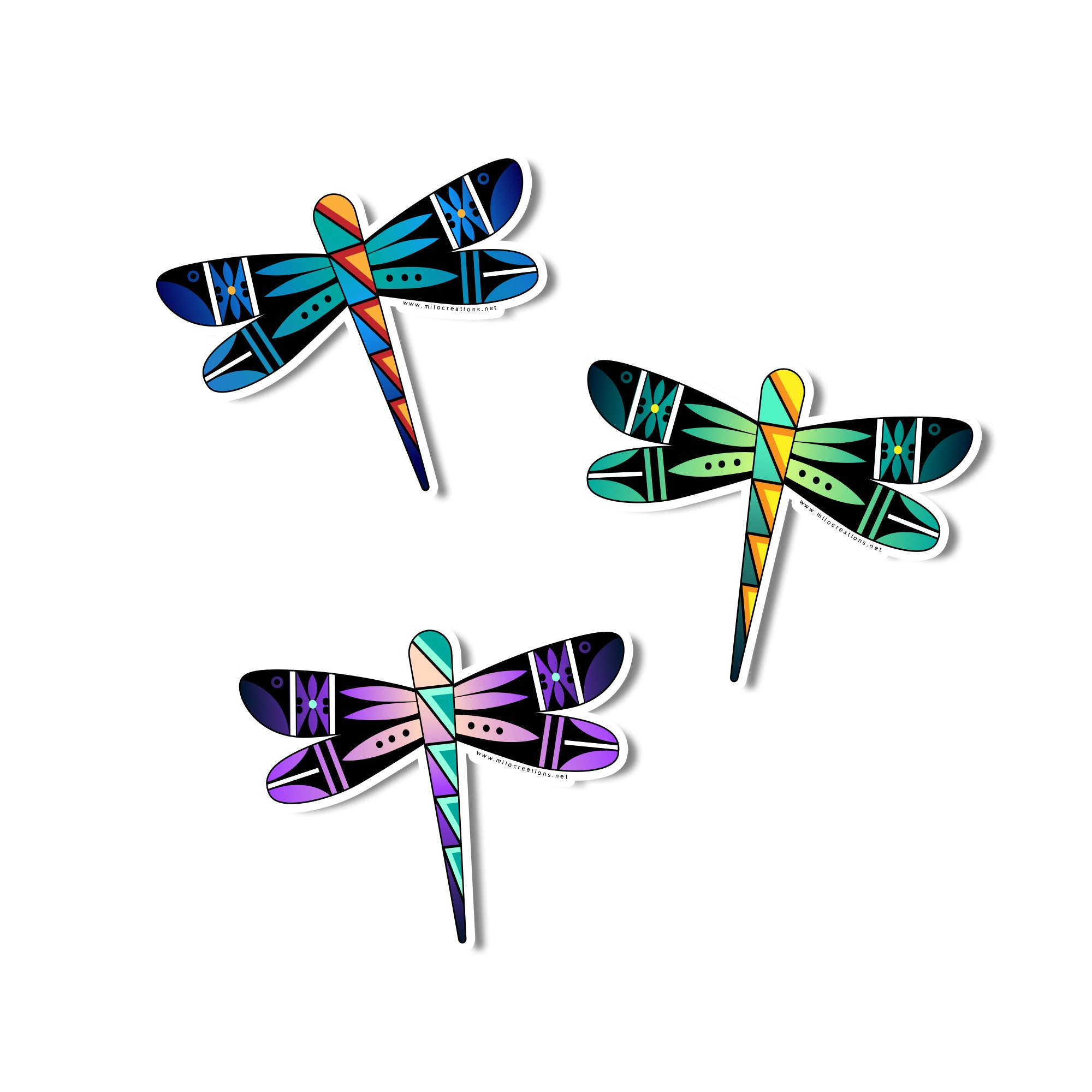 Dragonfly Sticker Packet