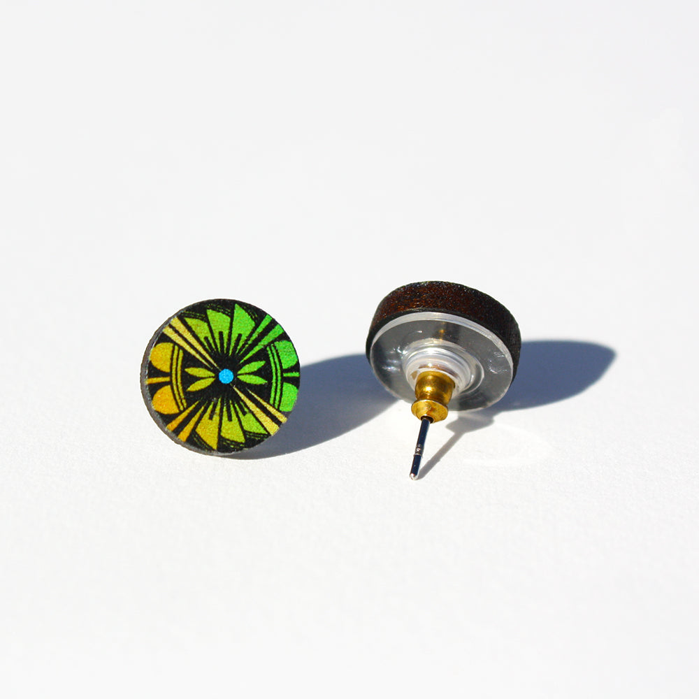 Down To Earth Post Earrings