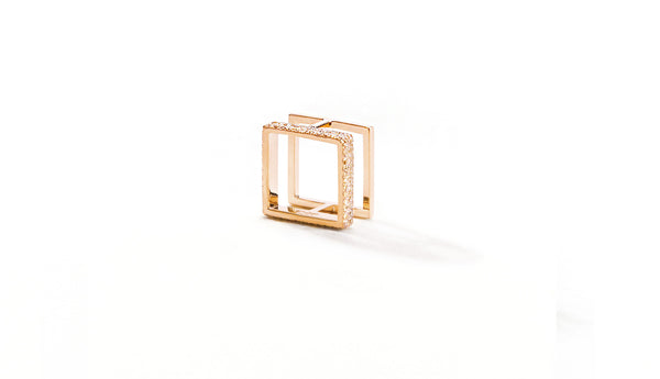 Sophie Birgitt Jewellery BETWEEN THE LINES MINI 18K Rose Gold