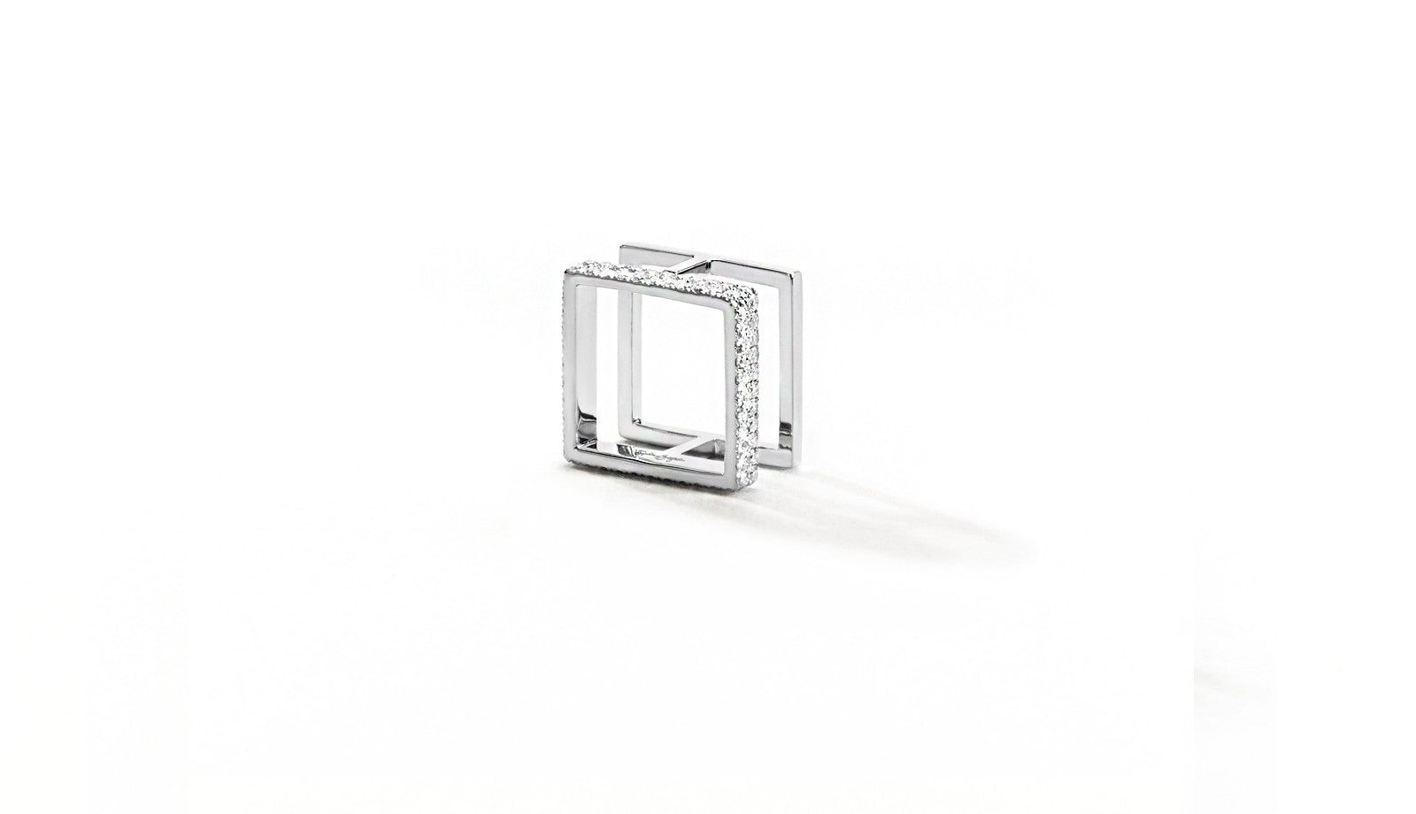Sophie Birgitt Jewellery BETWEEN THE LINES MINI 18K White Gold