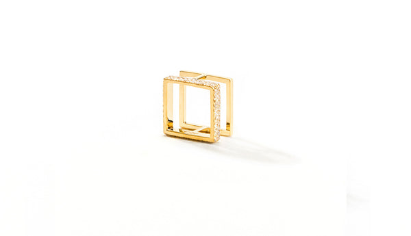 Sophie Birgitt Jewellery BETWEEN THE LINES MINI 18K Yellow Gold