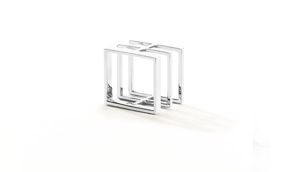 Sophie Birgitt Jewellery BETWEEN THE LINES 18K White (no diamonds)