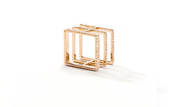 Sophie Birgitt Jewellery BETWEEN THE LINES 18K Rose Gold