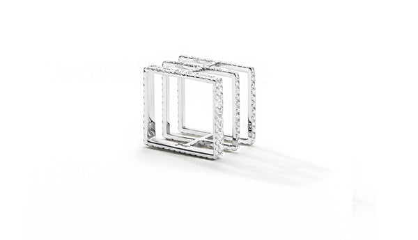 Sophie Birgitt Jewellery BETWEEN THE LINES 18K White Gold