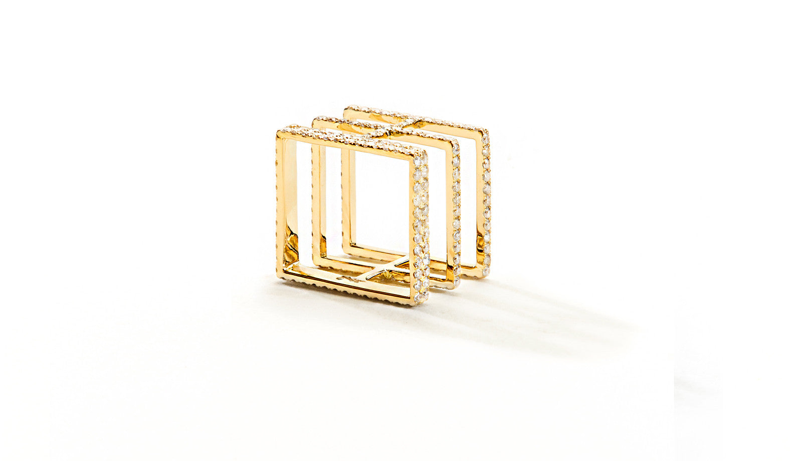 Sophie Birgitt Jewellery BETWEEN THE LINES 18K Yellow Gold