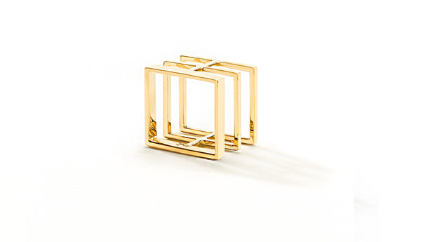 Sophie Birgitt Jewellery BETWEEN THE LINES 18K Yellow Gold (no diamonds)