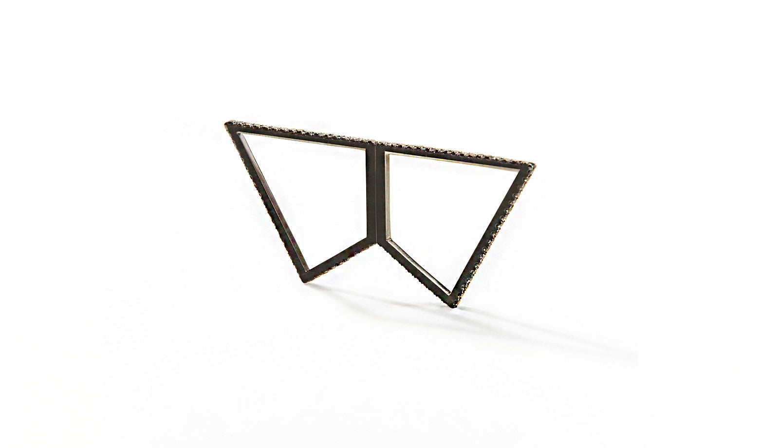 Sophie Birgitt Jewellery REFLECTION 18K Gun Metal Black Gold
