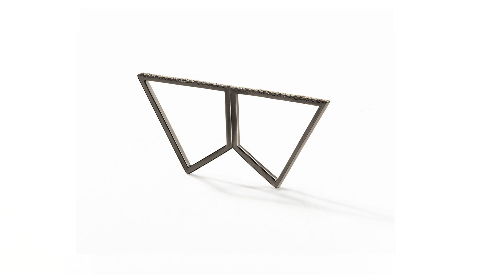 Sophie Birgitt Jewellery REFLECTION 18K Gun Metal Black Gold (less diamonds)