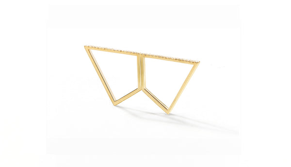 Sophie Birgitt Jewellery REFLECTION 18K Yellow Gold (less diamonds)