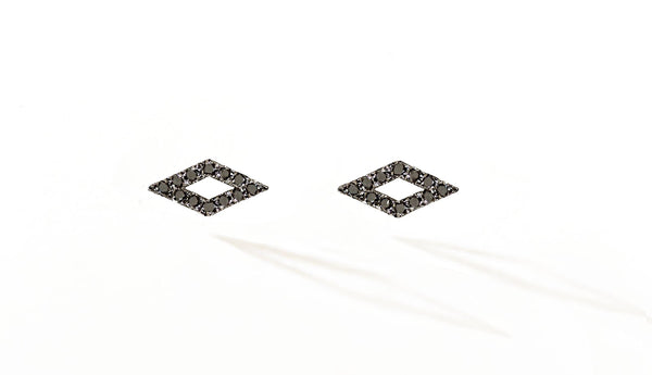 Sophie Birgitt Jewellery QUADRI 18K Gun Metal Black Gold & Black Diamonds