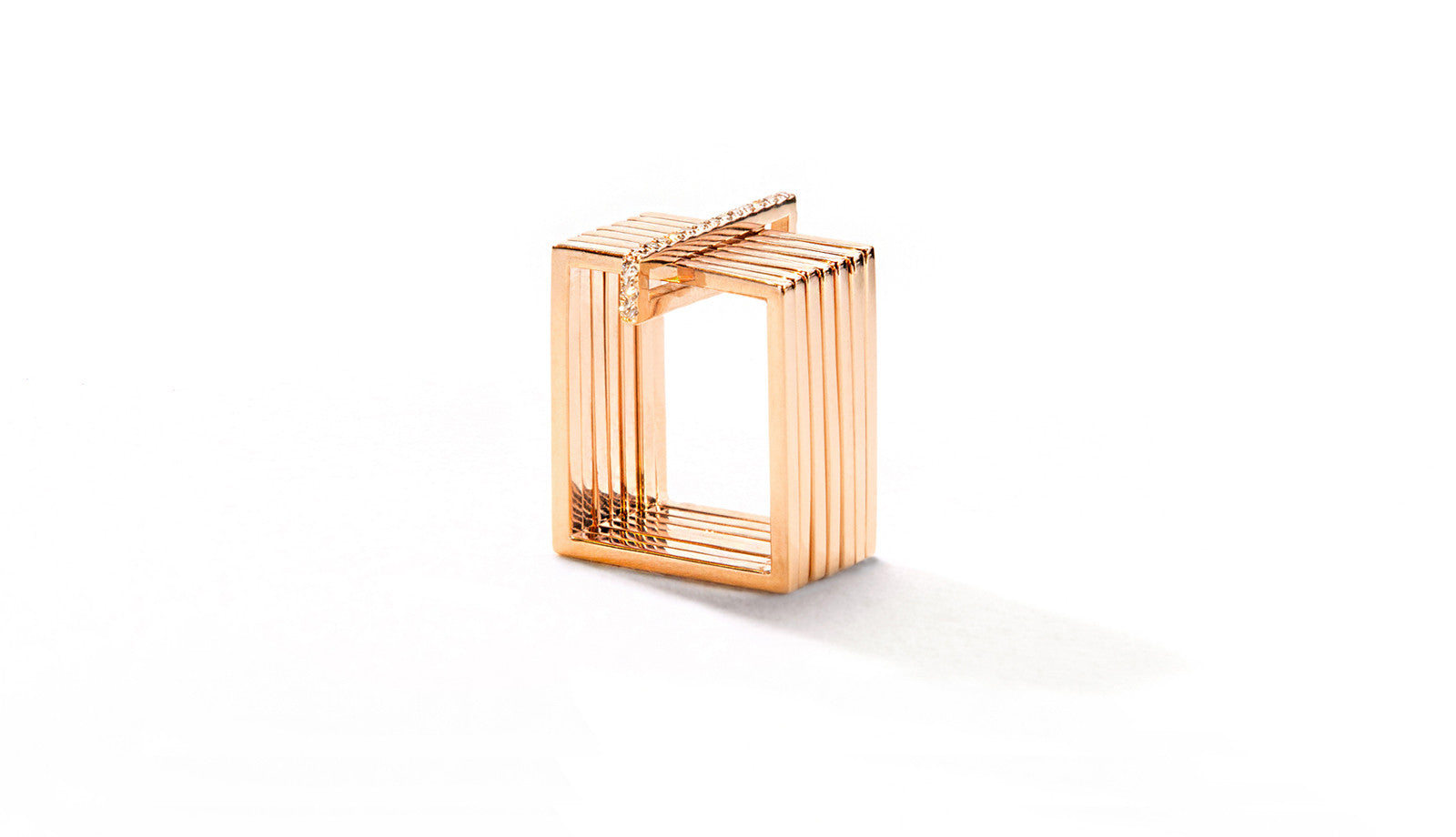 Sophie Birgitt Jewellery STREAMLINE 18K Rose Gold