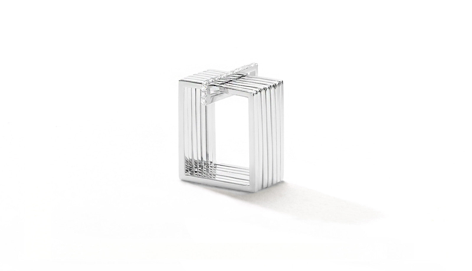 Sophie Birgitt Jewellery STREAMLINE 18K White Gold