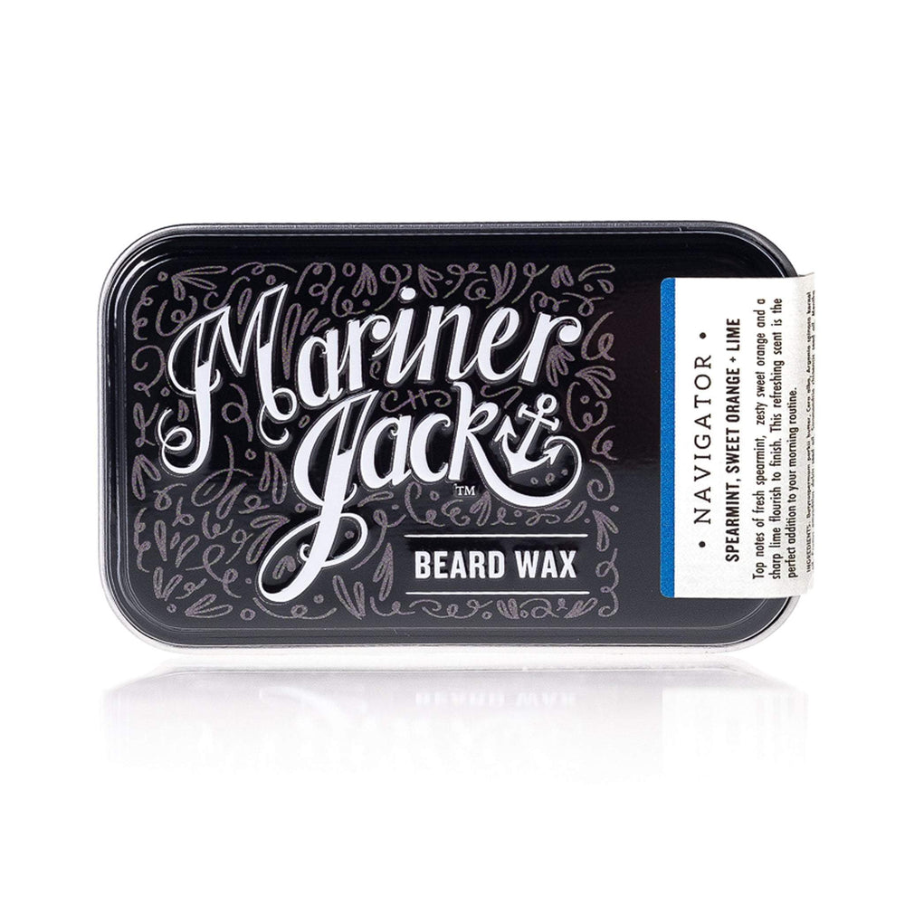 Navigator Beard and Moustache Wax - spearmint, sweet orange and lime