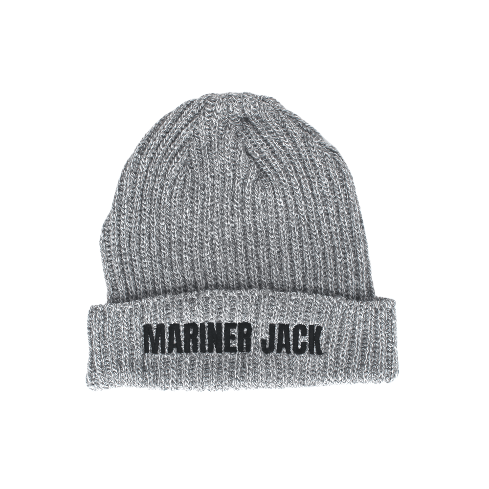Mariner Jack Trawler Beanie - Light Grey