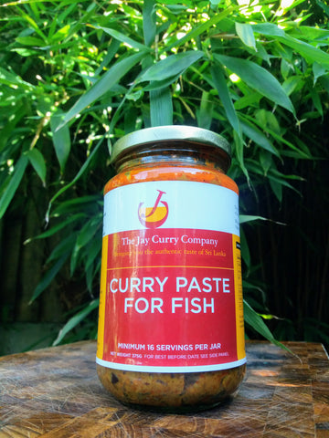Curry Paste for Fish (V)- Reduced to Clear