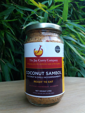 Coconut Sambol - Reduced to Clear