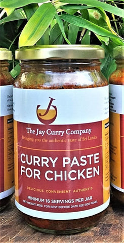 Curry Paste for Chicken (V)