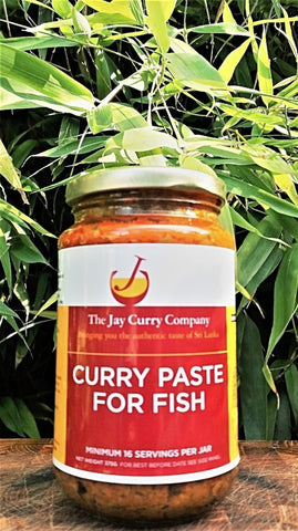 Curry Paste for Fish (V)
