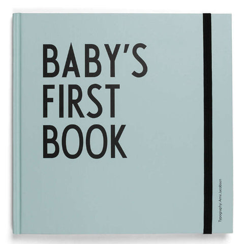 Baby's First Book Turquoise - Design Letters