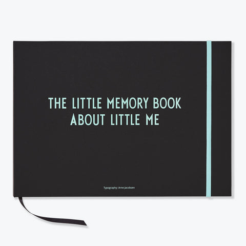 The Little Memory Book, Turquoise - Design Letters