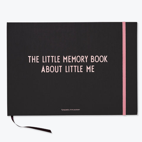 The Little Memory Book, Rosa - Design Letters