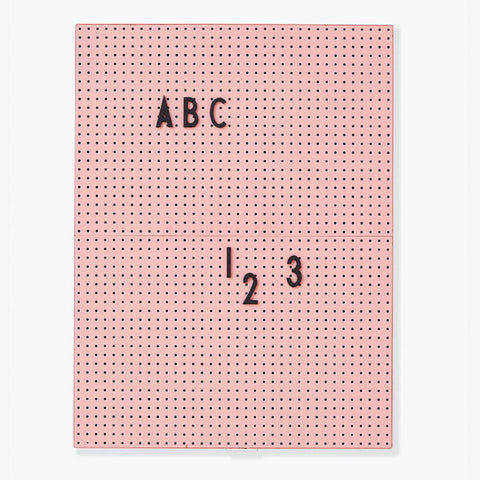 Message Board A4 - Pink