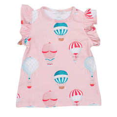 Angel Sleeve Top Hot Air Balloons - Livly