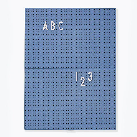 Message Board A4, Blue - Deign Letters