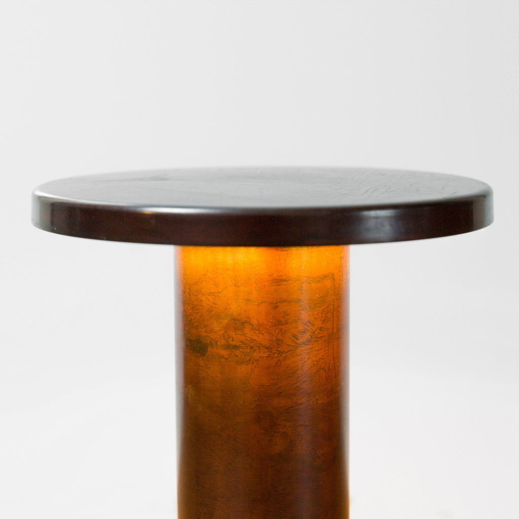 Patinated Brass Table Lamp