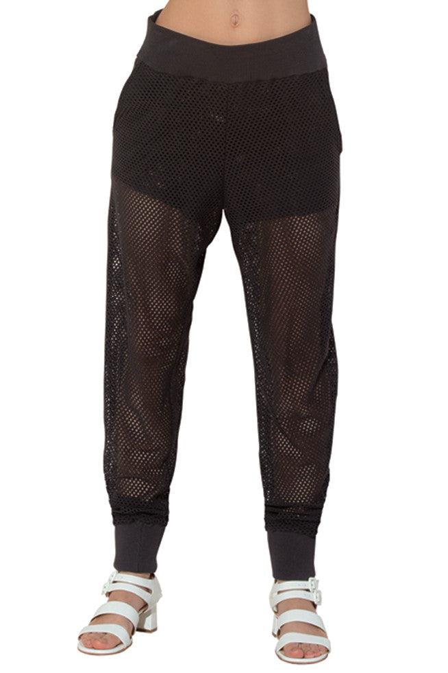 COTTON MESH PANTS